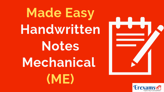 Made Easy Handwritten Notes for Mechanical (ME) Branch Pdf Free