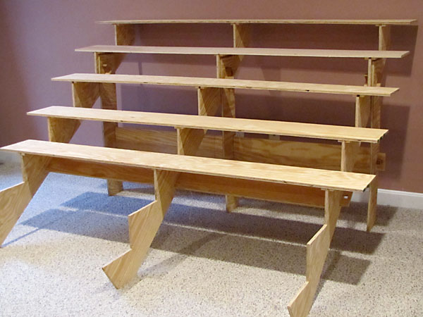 How To Build Wooden Bleachers