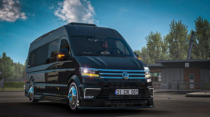 Volkswagen Crafter 2020 VIP 1.37 ETS2   Crafter Synonymes de crafter Nom craftsman