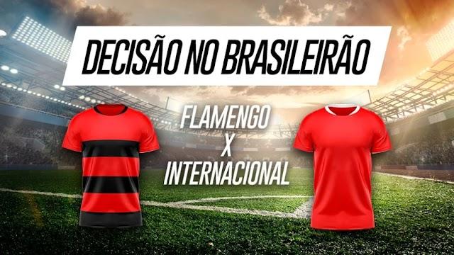 Flamengo x Internacional: aposte no jogo que pode decidir título do Brasileirão
