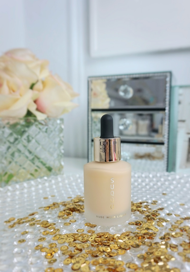 Suqqu Nude Wear Liquid 101 Natural Ivory review swtach
