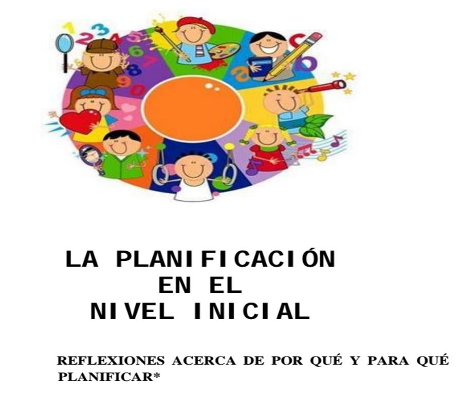Maestras de educaci n inicial for Planificacion de educacion inicial