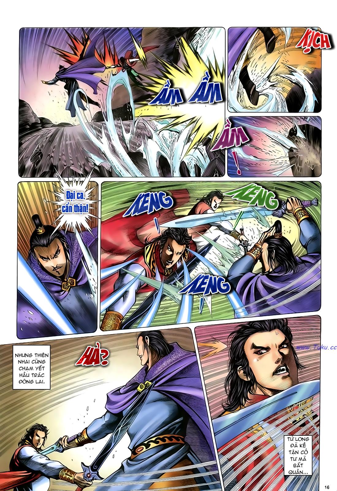 Anh hùng vô lệ Chap 24 trang 17