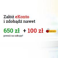 Zyskaj nawet 750 zł za eKonto w mBanku