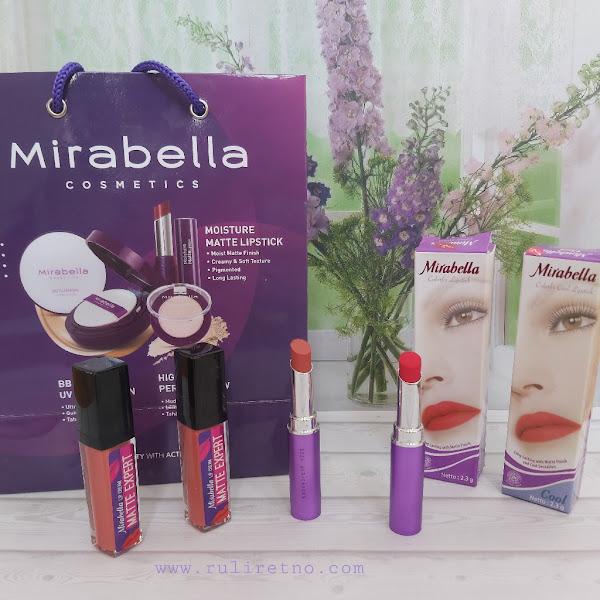 Amankah Mirabella  Kosmetik lipstik untuk ibu hamil? ini Dia Review Mirabella Colorfix dan Matte Expert