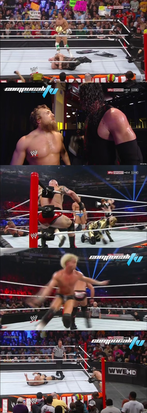 WWE Royal Rumble 720p HD Español Latino