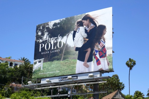 Polo Family who you love billboard