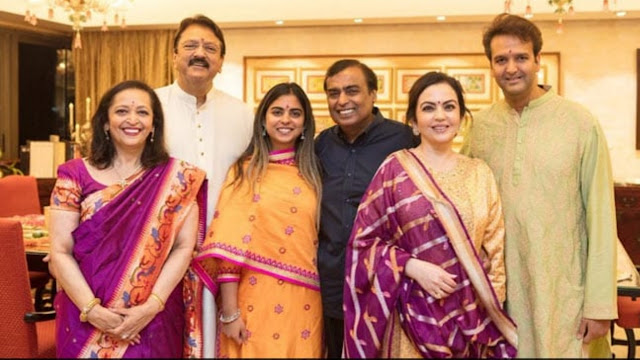 For Isha Ambani Wedding, A Royal Invitation Card