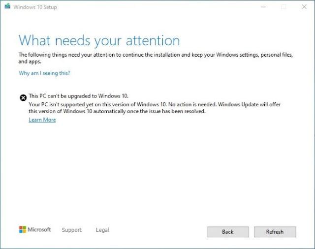 Windows 10 avisará com antecedência problemas de compatibilidade nas actualizações