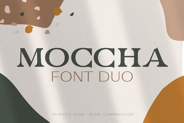 Moccha Font Duo