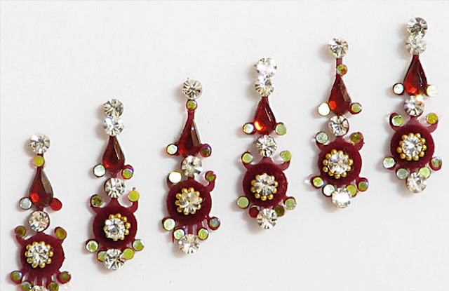 Latest Bindi Designs For Brides