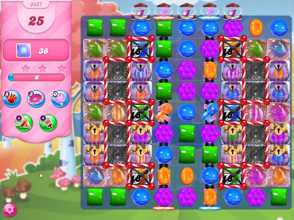 Candy Crush Saga level 3427