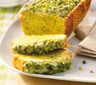 Green almond cake recipe