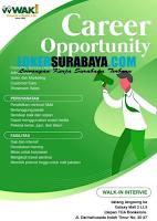 Career Opportunity at Waki Surabaya Terbaru Desember 2019