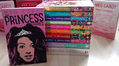 Series princess diaries book