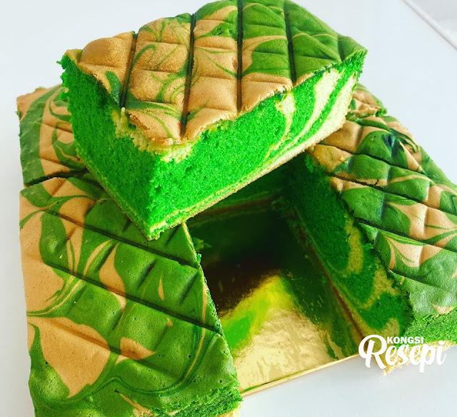 resepi kek marble sukatan cawan azlina ina pin  mufin cupcake cake cooking fanpage kek Resepi Kek Span Pandan Gebu Enak dan Mudah