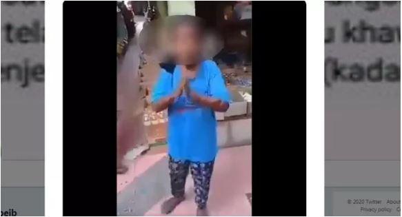 Nenek yang Ditendang Pria di Pasar karena Dituduh Mengutil Ternyata Hidup Sebatang Kara