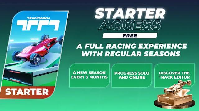 Trackmania Gratis Edisi Starter Access