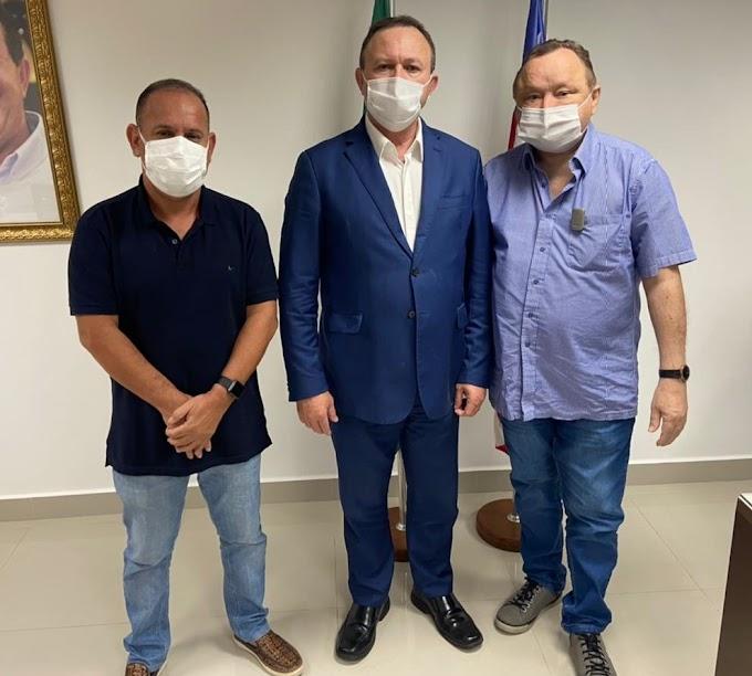 Deputado Paulo Neto participa de reunião com o vice-governador Carlos Brandão e reafirma que disputará reeleição em busca de mais um mandato na Assembleia Legislativa.