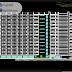 مخطط مشروع موقف سيارات 12 طابق بطاقة استيعاب 1500 سيارة اوتوكاد dwg