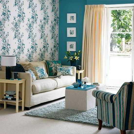 Ruang Tamu Tanpa Sofa