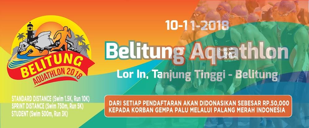Belitung Aquathlon • 2018