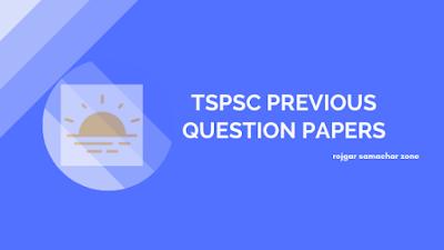 tspsc question paper