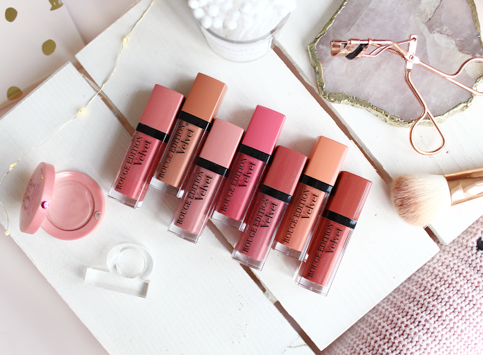 Bourjois Rouge edition Velvet review swatch