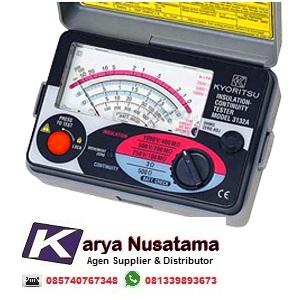 Jual Insulation Continuity Tester 1000V Kyoritsu 3132A di Padang