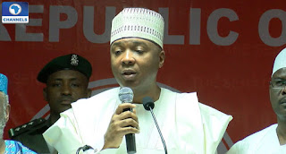 Saraki: we should all emulate the love of Christ