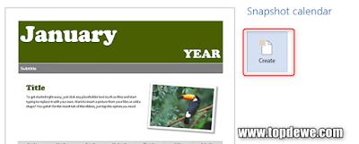 Cara membuat kalender dengan word
