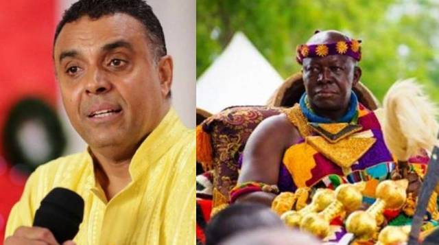 Dag Heward-Mills apologises to Otumfuo Osei Tutu II over alleged insults in audio