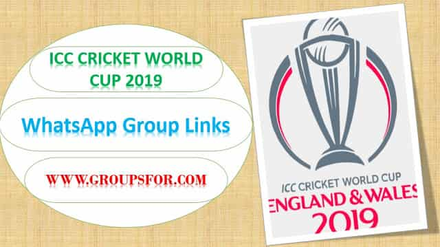 cricket world cup whatsapp group links