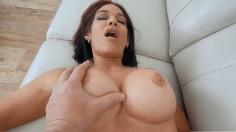 Redhead mature stepmother Ryder Skye taking care of her stepsons anger