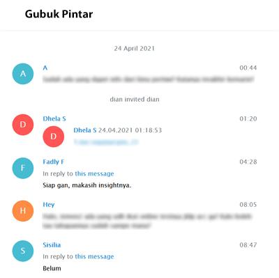 Hasil Backup Chat Telegram