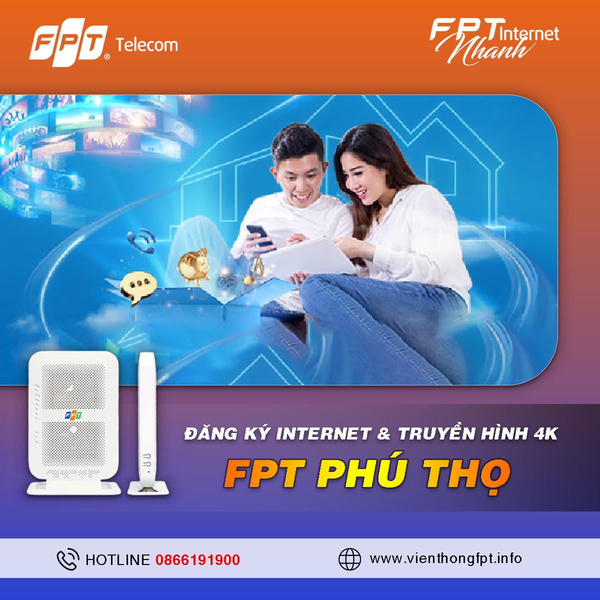 Tổng đài Đăng ký Internet FPT tại Phú Thọ