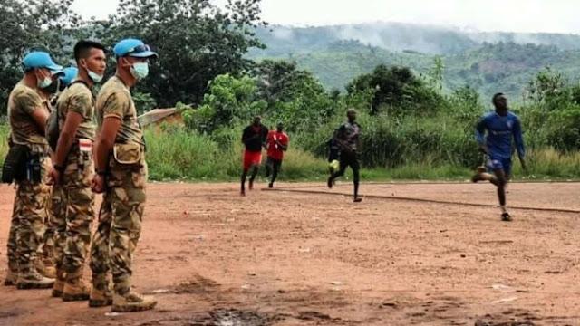 TNI Rekrut Anak Muda Afrika Jadi Tentara FACA