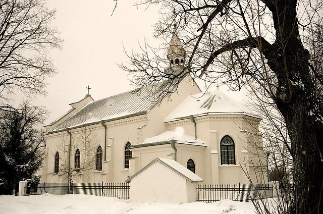 Church Winter Poland