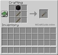 minecraft stone shovel recipe