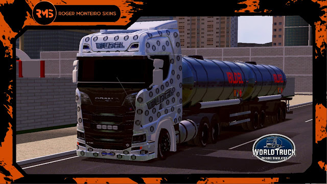 Scania S, Skins World Truck, Wtds, Budel Transportes