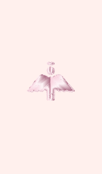 Rose quartz angel fulfilling love affair