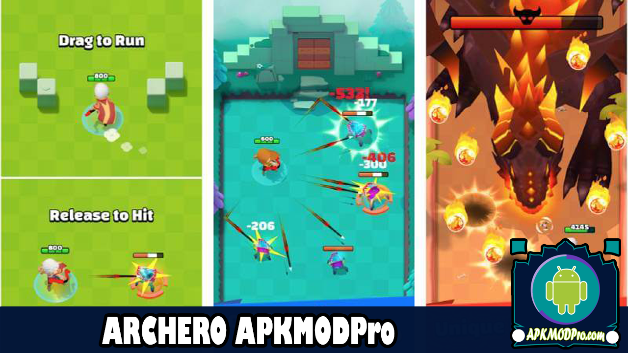 Download Archero MOD APK 1.3.2 (MOD God Mode) Terbaru 2020
