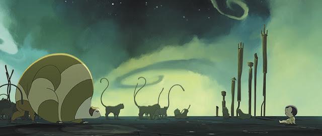 Fotograma de la película española de animación Nocturna