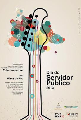 cartaz do dia do servidor publico