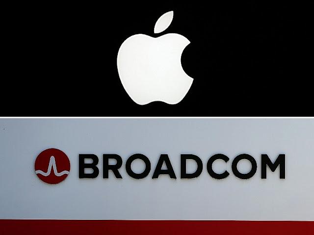 Apple, Broadcom распорядился выплатить 1,1 млрд долларов за нарушение патентных прав