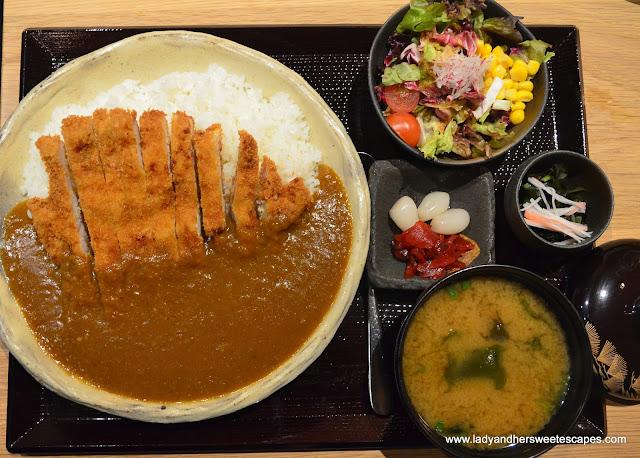 Katsu Curry in Miyako restaurant Dubai