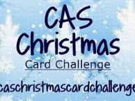 CAS Christmas Card Challenge - April 2018