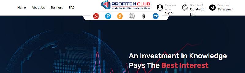 Мошеннический сайт www.profiten.club – Отзывы, развод, платит или лохотрон? Информация