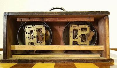 I Torneo Nacional de Ajedrez de Lérida 1948, mecanismo del reloj