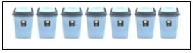 soal jumlah tempat sampah
